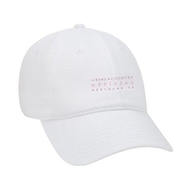 for KING & COUNTRY FKC White Dad Hat