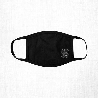 for KING & COUNTRY Black Crest Face Mask