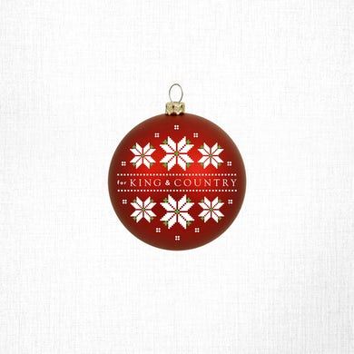 for KING & COUNTRY Garland Logo Ornament