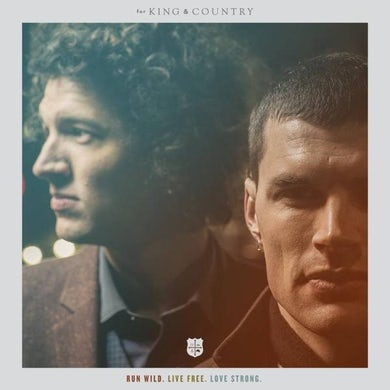 for KING & COUNTRY RUN WILD. LIVE FREE. LOVE STRONG. (THE ANNIVERSARY EDITION) VINYL