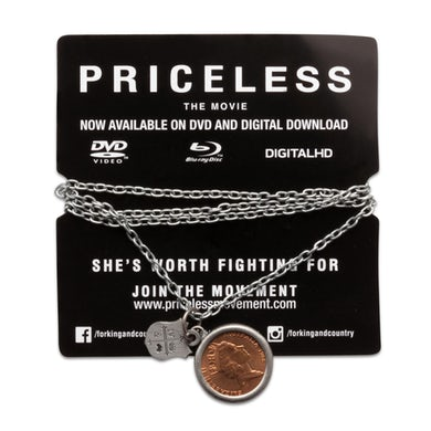 COIN + CREST PRICELESS NECKLACE