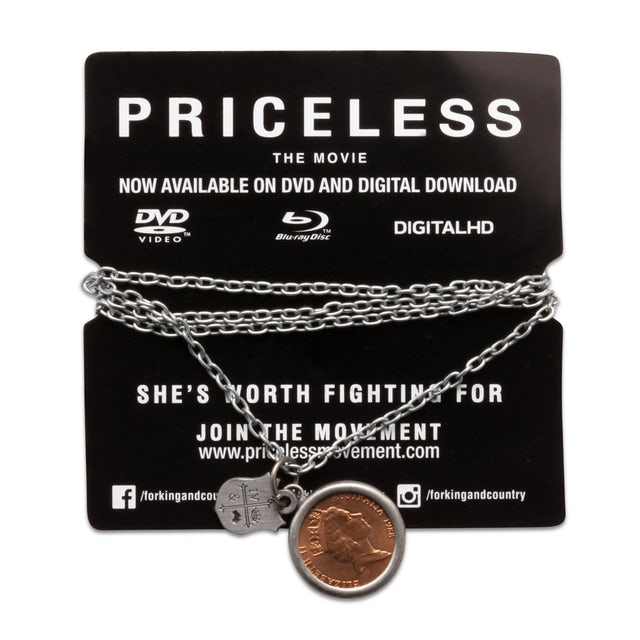 for KING & COUNTRY COIN + CREST PRICELESS NECKLACE