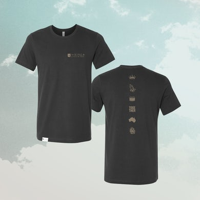 for KING & COUNTRY FK&C Dark Grey Tee