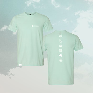 for KING & COUNTRY FK&C Mint Tee