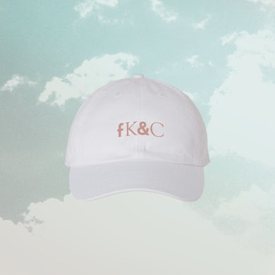 for KING & COUNTRY FK&C White / Mauve Dad Hat