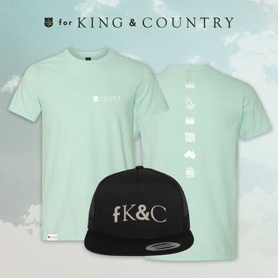 for KING & COUNTRY Mint Tee Bundle