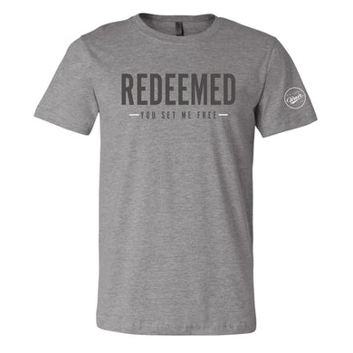 Big Daddy Weave Redeemed Grey Tee