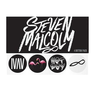 Steven Malcolm Button Pack
