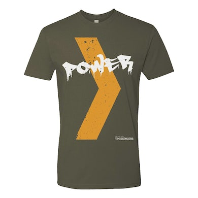 We Are Messengers Military Green Power Tee