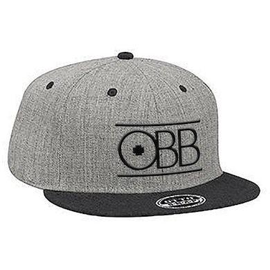 OBB Band Black & Grey Logo Snapback