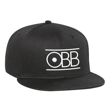 OBB Band Black & White Logo Snapback