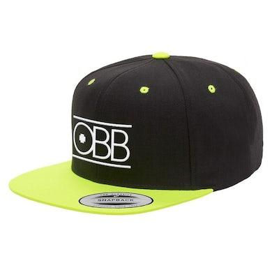 OBB Band Black & Neon Yellow Logo Snapback
