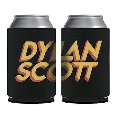 Dylan Scott Black Logo Koozie