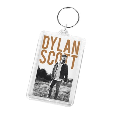Dylan Scott Photo Keychain