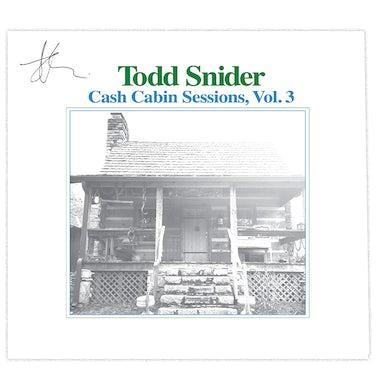 Todd Snider - Cash Cabin Sessions, Vol. 3 - Signed Album Flat