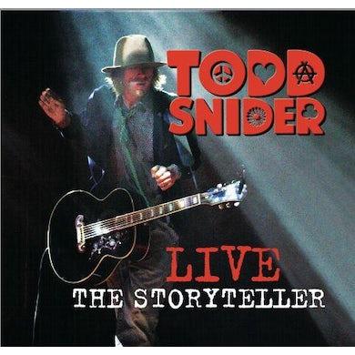 Todd Snider Storyteller Live CD