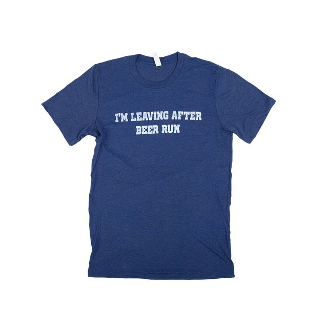 Todd Snider I'm Leaving After Beer Run Tee