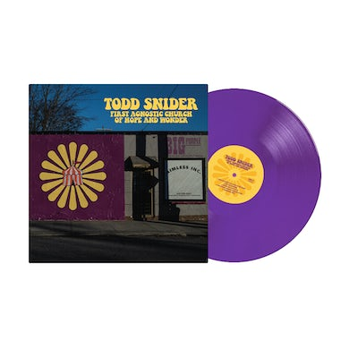 Todd Snider First Agnostic Church of Hope and Wonder Limited Edition Color Vinyl