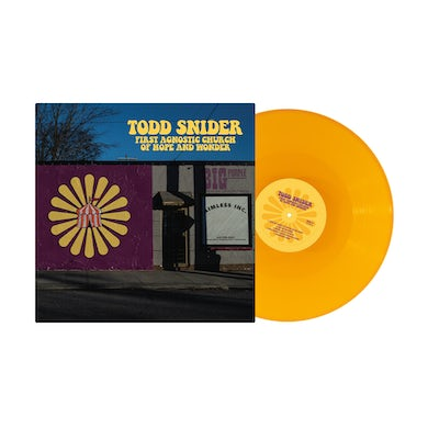 Todd Snider FAC Limited Edition Yellow Vinyl - Sold Out