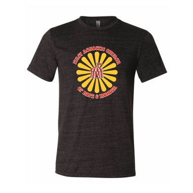 Todd Snider First Agnostic Church T-Shirt - Black