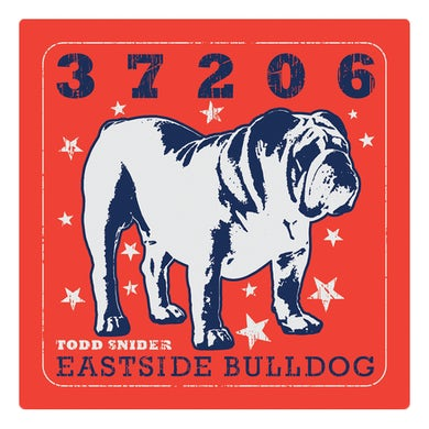 Todd Snider Eastside Bulldog 4x4 Sticker