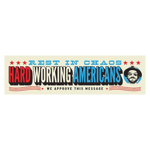 Hard Working Americans RIC Vinyl Bumper Sticker