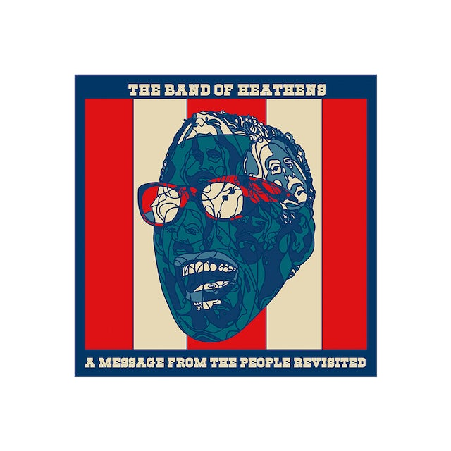 Band Of Heathens A Message From The People Revisited Sticker