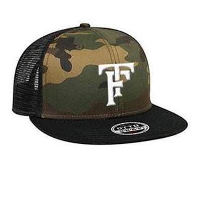 Tyler Farr Initials Camouflage Hat