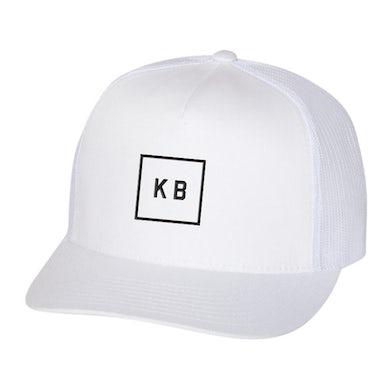 Kane Brown White Patch Hat