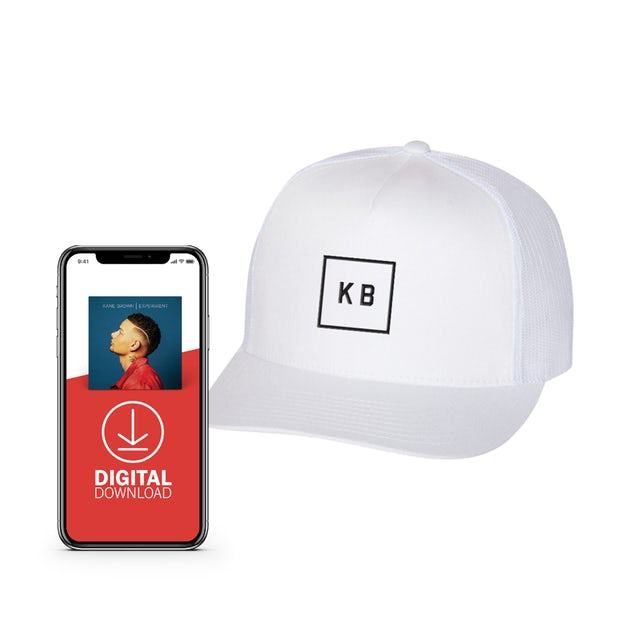 Kane Brown White Patch Hat + Experiment Digital Album