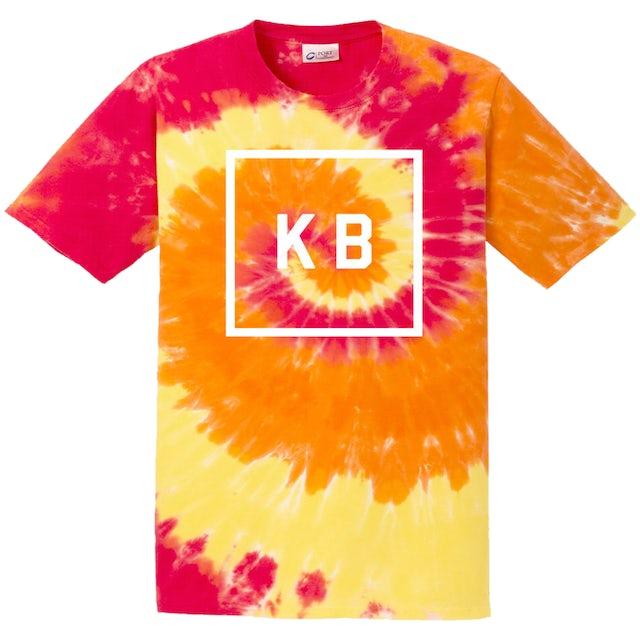 Kane Brown KB Orange Tie Dye Tee