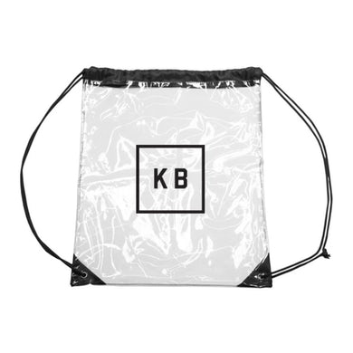 Kane Brown Clear Cinch Bag