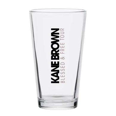 Kane Brown Blessed & Free Glass