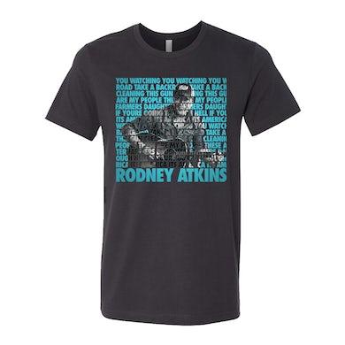 Rodney Atkins Watching You Lyric Tee