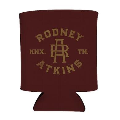 Rodney Atkins Initial Koozie - Maroon