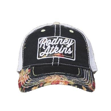 Rodney Atkins Floral Mesh Hat