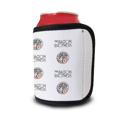 Bacon Brothers Drum Logo Velcro Koozie