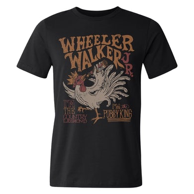 Wheeler Walker Jr Rooster Tee