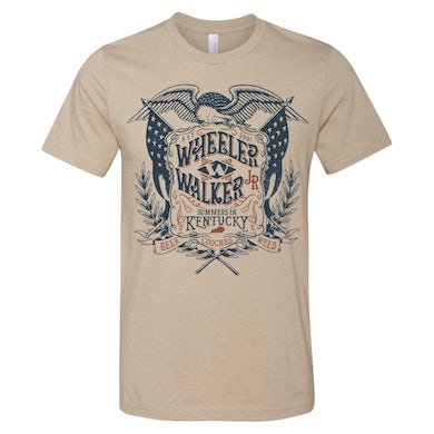 Wheeler Walker Jr Eagle Flag Tee