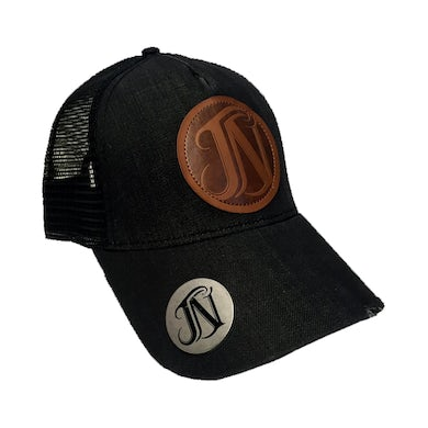 Joe Nichols JN Black Denim Bottle Opener Hat