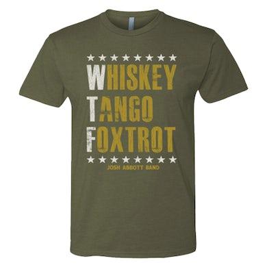 Josh Abbott Band JAB Army Green WTF T-Shirt