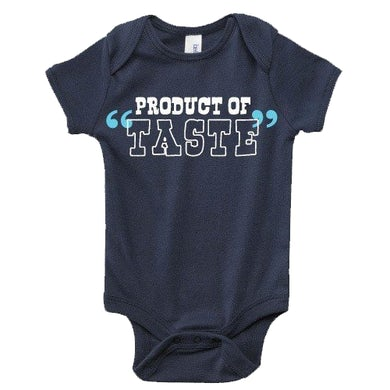 Josh Abbott Band Navy Infant Product of Taste Onesie