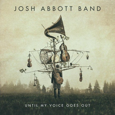Josh Abbott Band Signed JAB Until My Voice Goes Out CD