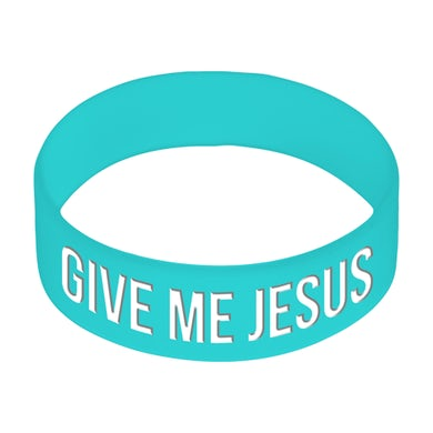 Building 429 Give Me Jesus Bracelet - Blue