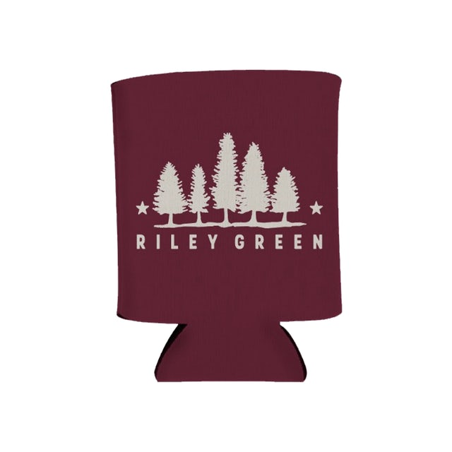 Riley Green Koozie - Maroon