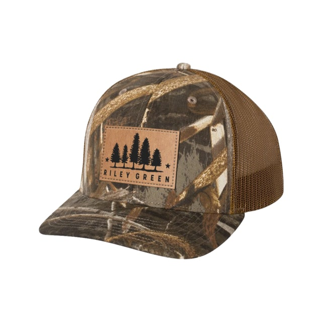 Riley Green Patch Hat - Camo