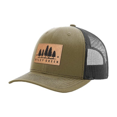 Riley Green Patch Hat - Green/Black