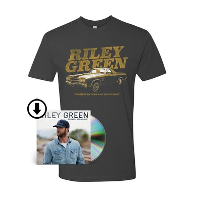 Riley Green El Camino Tee & Different 'Round Here Digital Album