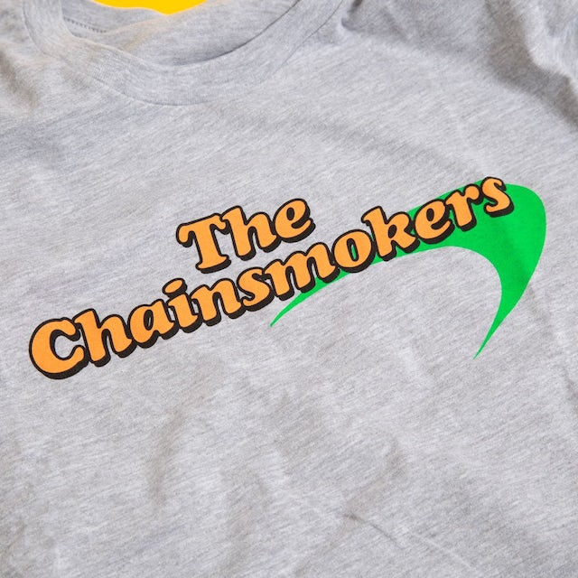 The Chainsmokers Grey Tee