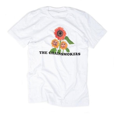The Chainsmokers White Flower Tee